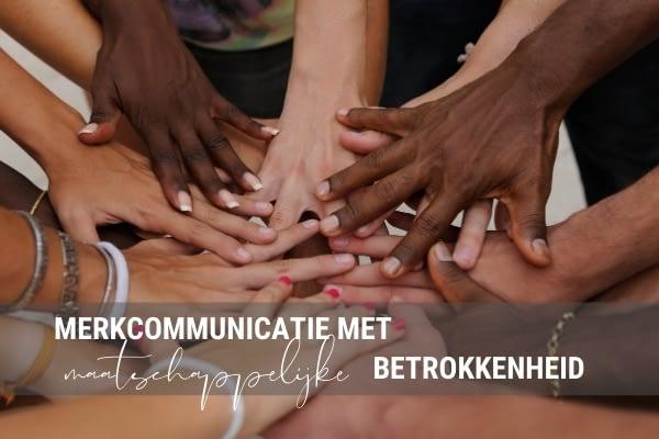 Merkcommunicatie met maatschappelijke betrokkenheid tijdens het coronavirus