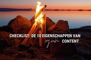 10 eigenschappen van goede content